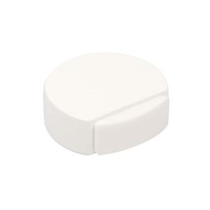 tope de puerta madera lacada blanco con adhesivo 497bl