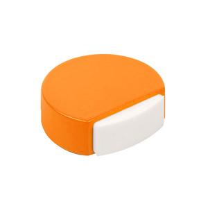 tope de puerta madera lacada naranja 497na