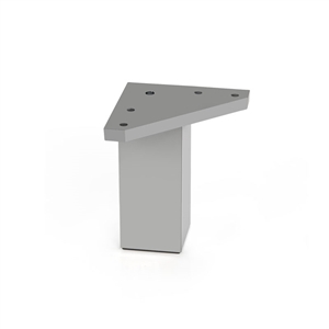 square leg absmat aluminum legs furniture accesories n289