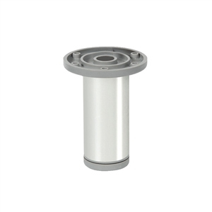 round legaluminum, shiny finishlegs furniture accesories n376
