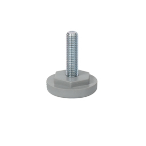adjuster m abs gris diameterlegs furniture accesories n641