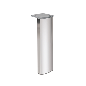 furniture leg bright anodized aluminium ap1596