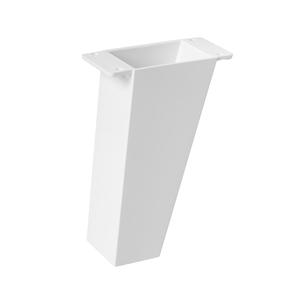pata mueble abs diseno blanca ap1603