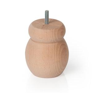 pata maderahaya crudo accesorios patas mueble n320