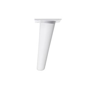 pata conica inclinada madera haya blanca plato blanco mueble nordico ap1612