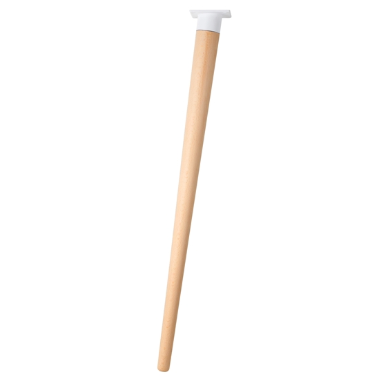 pata conica inclinada madera haya barniz plato blanco mueble nordico ap1626