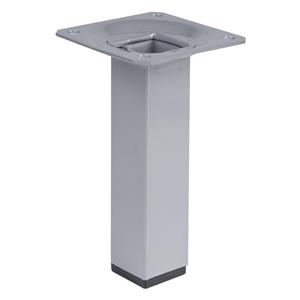 pata de mueble cuadrada 25*25mm h100mm pint. aluminio pied meuble carre 25*25mm h100mm peint aluminium