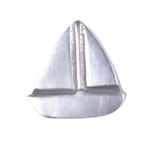 pomo tirador velero aluminio pulido 512a1