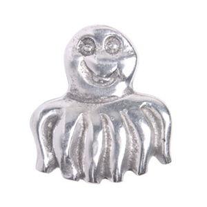 pomo tirador pulpo aluminio pulido 514a2