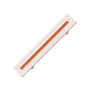 tiradores asa cromado con linea naranja mueble juvenil 589 514na
