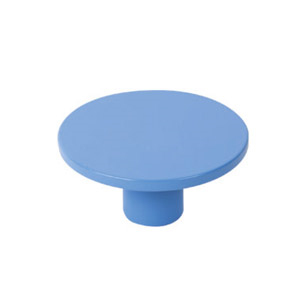 tirador pomo de mueble abs pintado azul diseno juvenil 7704az
