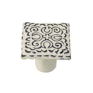 knob x antique metal matt beige patinated vintage shabby chic furniture handle tienda precio venta online 561be