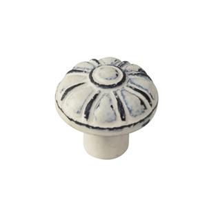 knob antique metal patinated beige vintage shabby chic furniture handle tienda precio venta online 563be