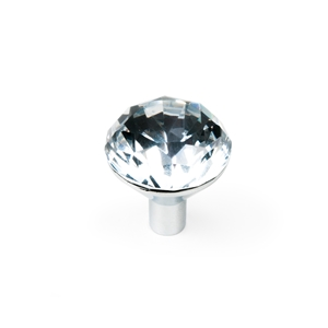 pomo cristal base cromo mueble swarovski ap1035