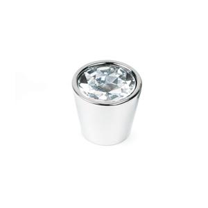 pomo conico cromo cristal incrustado mueble swarovski ap1036