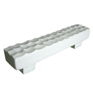 tiradores asa ceramica blanca brillante puerta mueble de bano 569 590a1