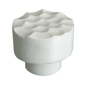 pomo tirador redondo dunas ceramica blanca brillante 590a3