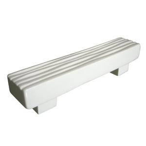 tiradores asa ceramica blanca brillante puerta mueble de bano 591a1