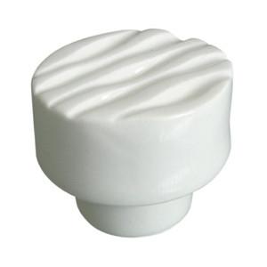 poignee bouton rond ceramique blanc 35mm 591a3