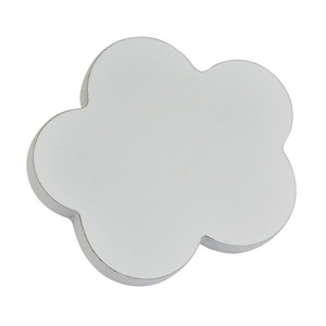 cloud knob sanded mdf with primer without lacquer finish do it yourself furniture handle lm007c