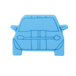 tirador pomo coche metacrilato azul mueble infantil niños n562