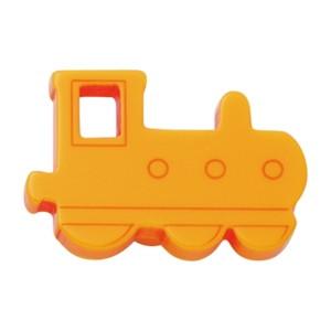 poignee bouton train oranger meuble enfants 605am