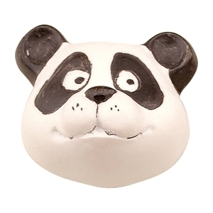 hand painted ceramic panda 638c0