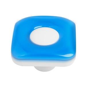 pomos tiradores cuadrado de metacrilato azul mueble infantiles ninos 653az
