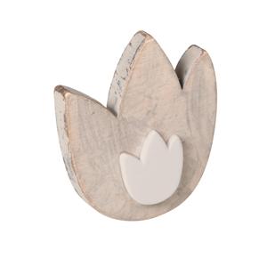 pomo tirador tulipan madera arena shabby chic cajon mueble bebe ap1047