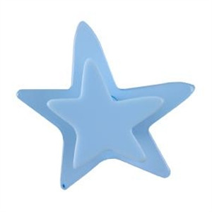 poignee bouton etoile bleu meuble enfants 667az