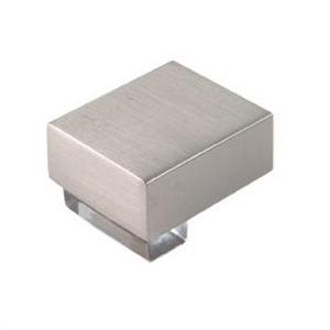 pomos tiradores metacrilato cristal con metal cromo puerta mueble 472 670cr1