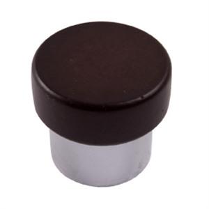 poignee bouton en bois chrome mat wenge meuble acrylique 673we7