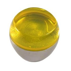 yellow bright methacrylate with bright chrome furniture handle 615 674am1