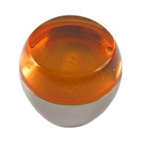 pomos tiradores metacrilato naranja con metal cromo puerta mueble 48 674na1
