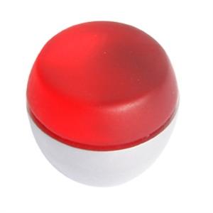 pomo tirador metacrilato rojo mate con cromo mate 674rj7