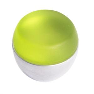pomo tirador metacrilato verde mate con cromo mate 674ve7