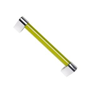 poignee methacrylate chrome vert meuble acrylique 45 676ve1