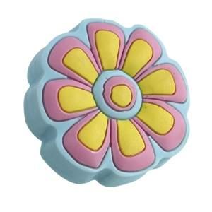 pomos tiradores goma flor azul y rosa puerta de mueble infantiles nino 680g1