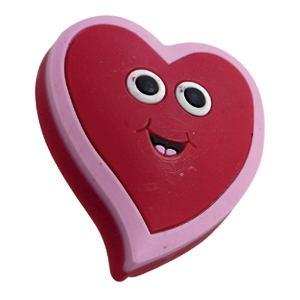 pomos tiradores goma corazon rojo puerta de mueble infantiles ninos 681g1