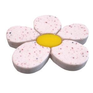 pomos tiradores flor resina blanca mueble infantiles ninos 418 692bl1