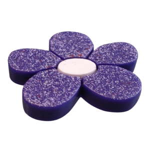 pomos tiradores flor resina morado violeta mueble infantiles ninos 419 692mo1