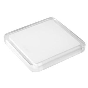 tirador pomo metacrilato con resina blanca herrajes mueble diseño moderno n610