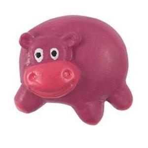 pomos tiradores hipopotamo morado fucsia resina mueble infantiles nino 703r1