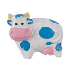 pomos tiradores vaca azul blanco rosa resina mueble infantiles ninos 707r1