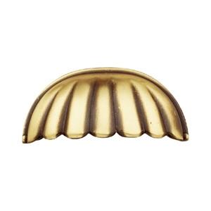 tiradores concha herrajes bronce clasico cajon mueble 68 71206