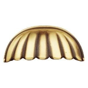 tiradores concha herrajes bronce clasico cajon mueble 681 71406