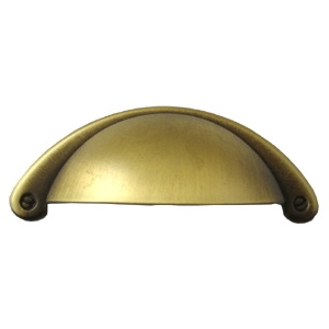 brushed bronze furniture handle 72215