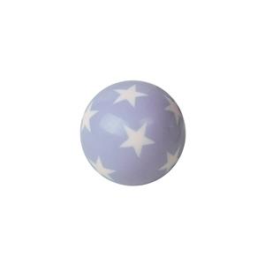 bola resina azul estrellas blancas tirador mueble bebe infantil 728az