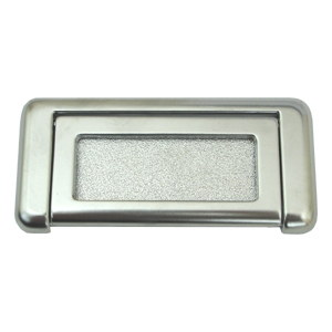 wardrobe handles matt chrome drawer pull 74217a
