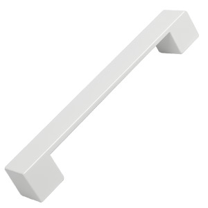 furniture handle abs colour white mat 7740bl